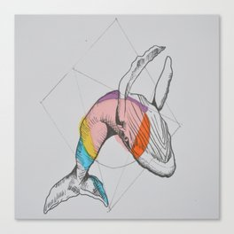 El salto Canvas Print
