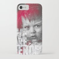 toddler iPhone & iPod Cases featuring Hero Sessions III by HappyMelvin