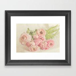 Soft & Delicate Framed Art Print