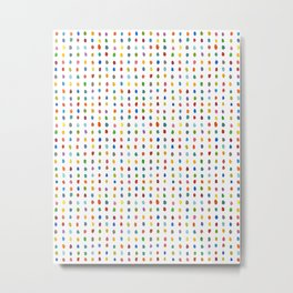 All the Colors Metal Print