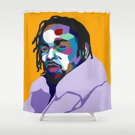 Mortal Man Shower Curtain
