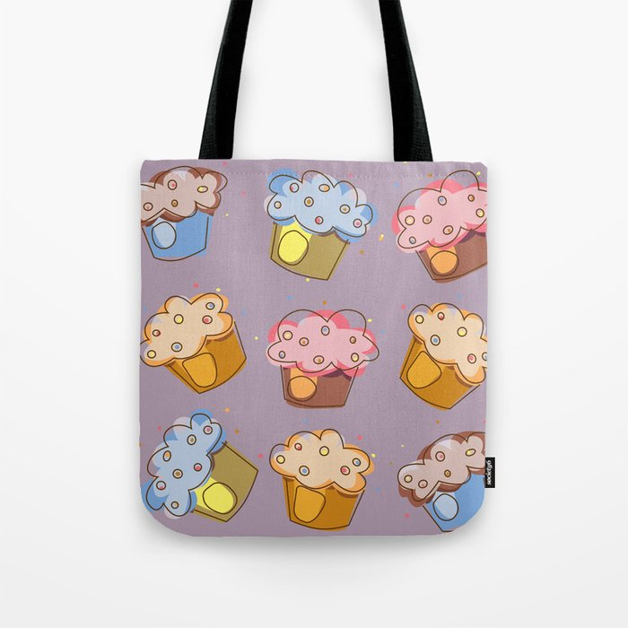 Muffins - pattern Tote Bag