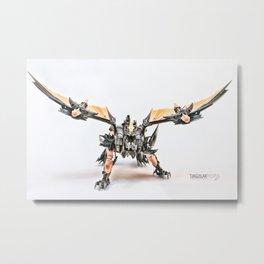 RISE ALMIGHTY PREDAKING!!! Metal Print