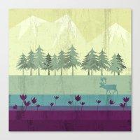 wildlife Canvas Prints featuring Wildlife by Kakel