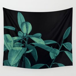Rubber plant Wall Tapestry