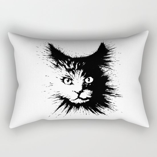 Inkcat4 Rectangular Pillow