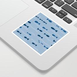 Squishy Fishies Sticker