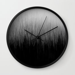 The Light Always Prevails Wall Clock
