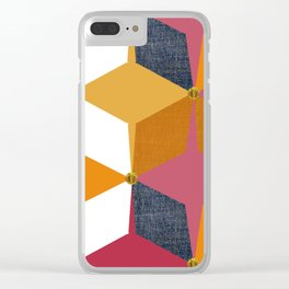 KALEIDOSCOPE 02 #HARLEQUIN Clear iPhone Case