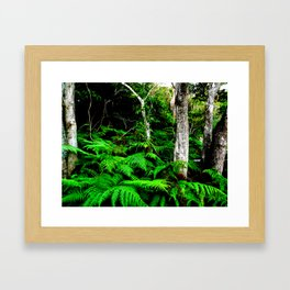 Isn't it good to be lost in the wood Framed Art Print