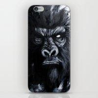 gorilla iPhone & iPod Skins featuring Gorilla by rchaem