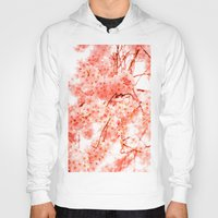 cherry blossoms Hoodies featuring Cherry Blossoms by 2sweet4words Designs