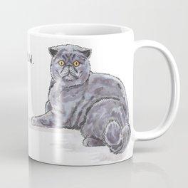 Meow/Miauw Coffee Mug