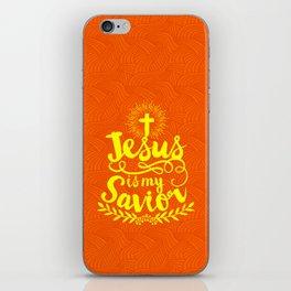 Jesus is my Savior iPhone Skin
