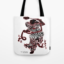 Chinese zodiac sign, Year of the Boar Tote Bag