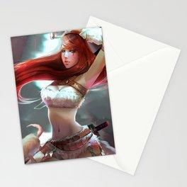 Kitty Kat Katarina Stationery Cards