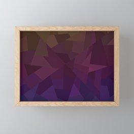 Patchwork - Flipped Framed Mini Art Print