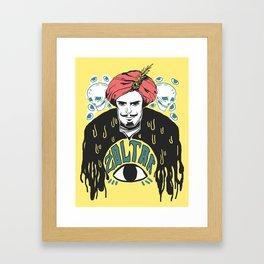Zoltar! Framed Art Print