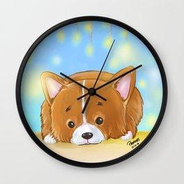 Laying Down Wall Clock