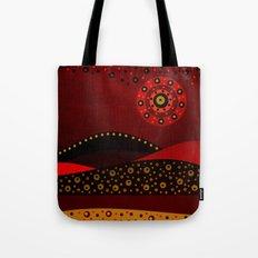 Red spring Tote Bag