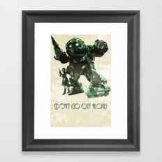 Bring a Friend Framed Art Print