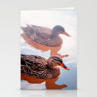 duck Stationery Cards featuring Duck by DistinctyDesign