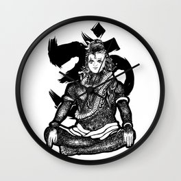 """Lord Shiva"" Wall Clock"