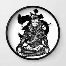 """Lord Shiva"" Wall Clock"
