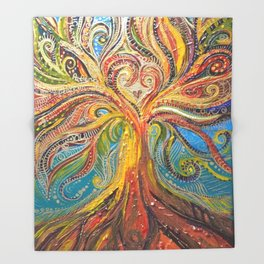 Fruit Of The Spirit Throw Blanket