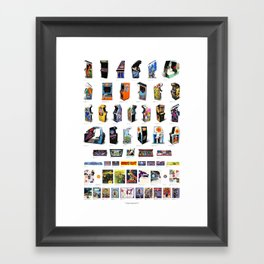 Arcade Art Framed Art Print