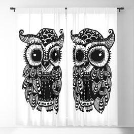 Cute Owl Artwork Blackout Curtain