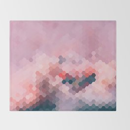 PINKY MINKY Throw Blanket