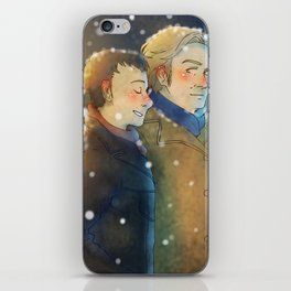 Snow Stroll iPhone Skin