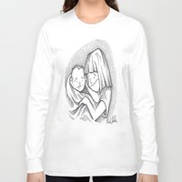 cuddle Long Sleeve T-shirts featuring Cuddle by Mark Holden