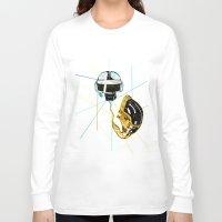 daft punk Long Sleeve T-shirts featuring Daft Punk by Naje Anthony Hart