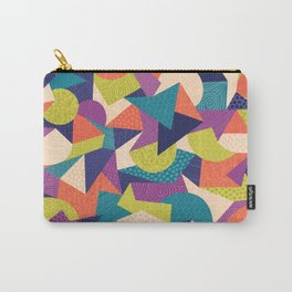 Trendy Abstract Geo Carry-All Pouch