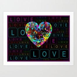 Sweet Valentine ! Art Print