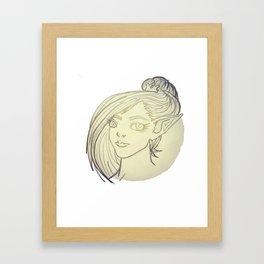 higher elf Framed Art Print