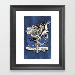 fortis fortuna adiuvat Framed Art Print