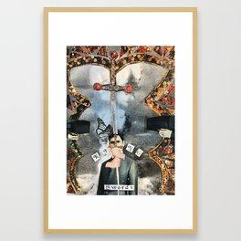 The King of Swords Framed Art Print