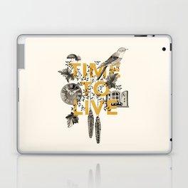 Time to live Laptop & iPad Skin