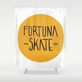 Fortuna Skate Classic Logo Shower Curtain