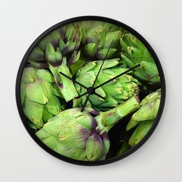 Artichokes Wall Clock