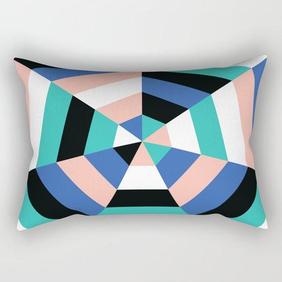 Heptagon Quilt 3 Rectangular Pillow