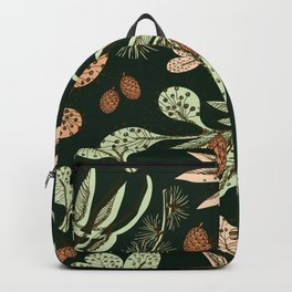 Christmas pattern. Backpack