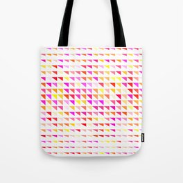 fete triangle pattern Tote Bag
