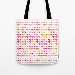 fete triangle pattern Tote Bag
