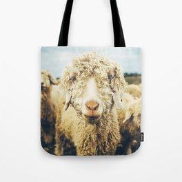 Curly I Tote Bag