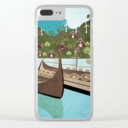 Norway 5 Clear iPhone Case