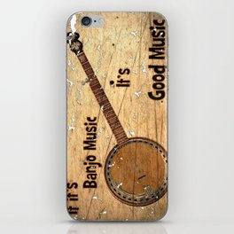 Banjo Music iPhone Skin